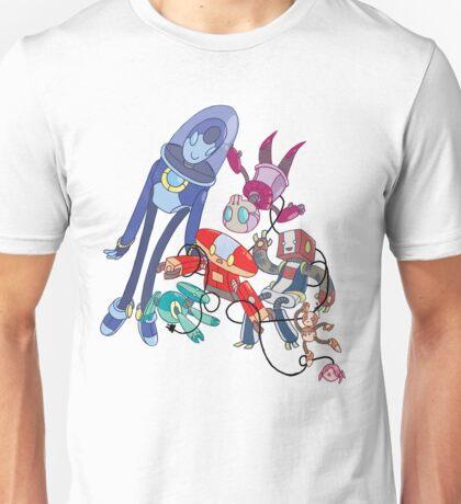 Robot Parade Unisex T-Shirt