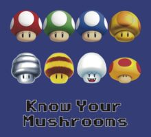 Know Your Mushrooms by BowserBasher