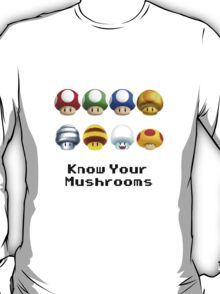 Know Your Mushrooms T-Shirt