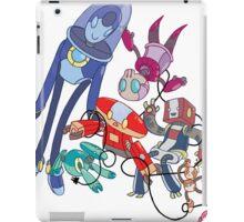 Robot Parade iPad Case/Skin