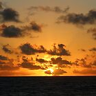 Sunrise in the Atlantic Ocean by Ren Provo