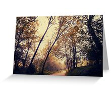 Autumnal Greeting Card