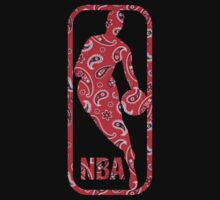 Nba Logo- Paisley Design by ksanwal