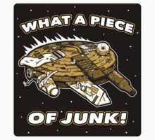What a Piece of Junk! (STICKER) by mikehandyart