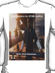 Franklin in GTA 5 T-Shirt