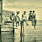 Lazy Summer days at the Bathhouse 1911 by © Kira Bodensted