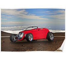 1933 Ford 'Top of the World' Roadster Poster