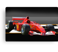Ferrari Formula One F1 Canvas Print