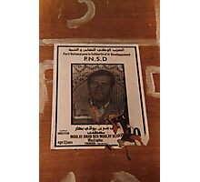 Aborting the 1990 Algerian elections Photographic Print