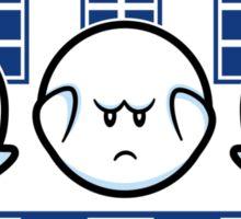 Boo No Evil (STICKER) Sticker