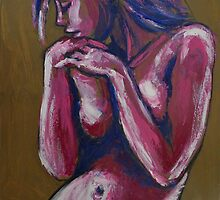 Sentimental - Female Nude by CarmenT