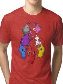 Jumping Pikmin Tri-blend T-Shirt