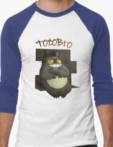 Totobro Men's Baseball ¾ T-Shirt