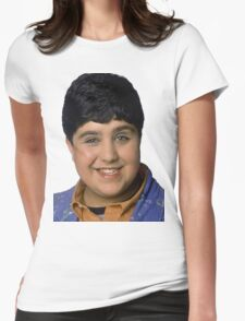 Josh Peck Portrait Womens Fitted T-Shirt