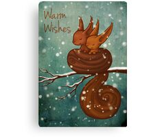 Warm Wishes Canvas Print