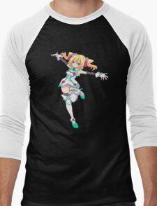 Hacka doll the animation Men's Baseball ¾ T-Shirt