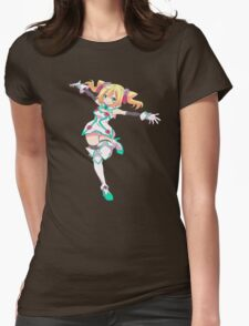 Hacka doll the animation Womens Fitted T-Shirt