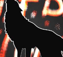The Big Bad Wolf Sticker