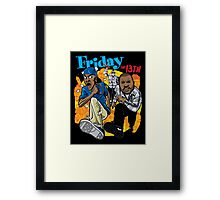 Friday the 13th Framed Print