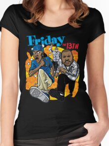 Friday the 13th Women's Fitted Scoop T-Shirt