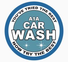 A1A Car Wash Logo by Surpryse