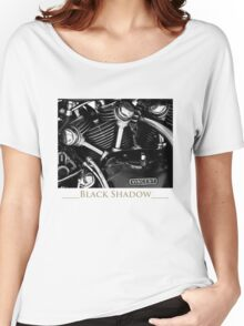 Vincent Black Shadow Women's Relaxed Fit T-Shirt