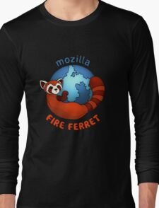 Mozilla Fire Ferret Long Sleeve T-Shirt