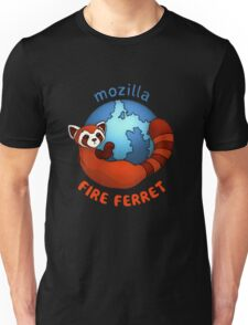 Mozilla Fire Ferret Unisex T-Shirt