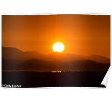 Amazing Sunset  Poster