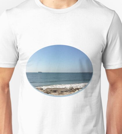 Sky, Water and Rocks Unisex T-Shirt