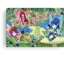 Blueberry Haven  Canvas Print