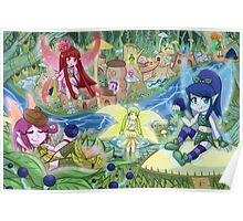 Blueberry Haven  Poster