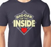 WHO has the Bigger Heart? Unisex T-Shirt