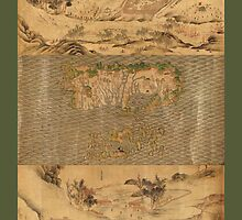 Military Maps of Camps Across Russia & China 1700 by caljaysoc