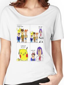 pokemon meme Women's Relaxed Fit T-Shirt