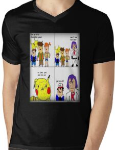 pokemon meme Mens V-Neck T-Shirt
