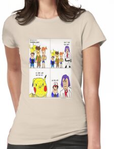 pokemon meme Womens Fitted T-Shirt