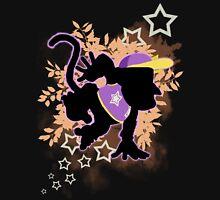 Super Smash Bros. Purple Diddy Kong Silhouette Unisex T-Shirt