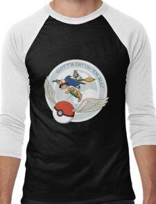 Gotta Catch 'Em All Men's Baseball ¾ T-Shirt