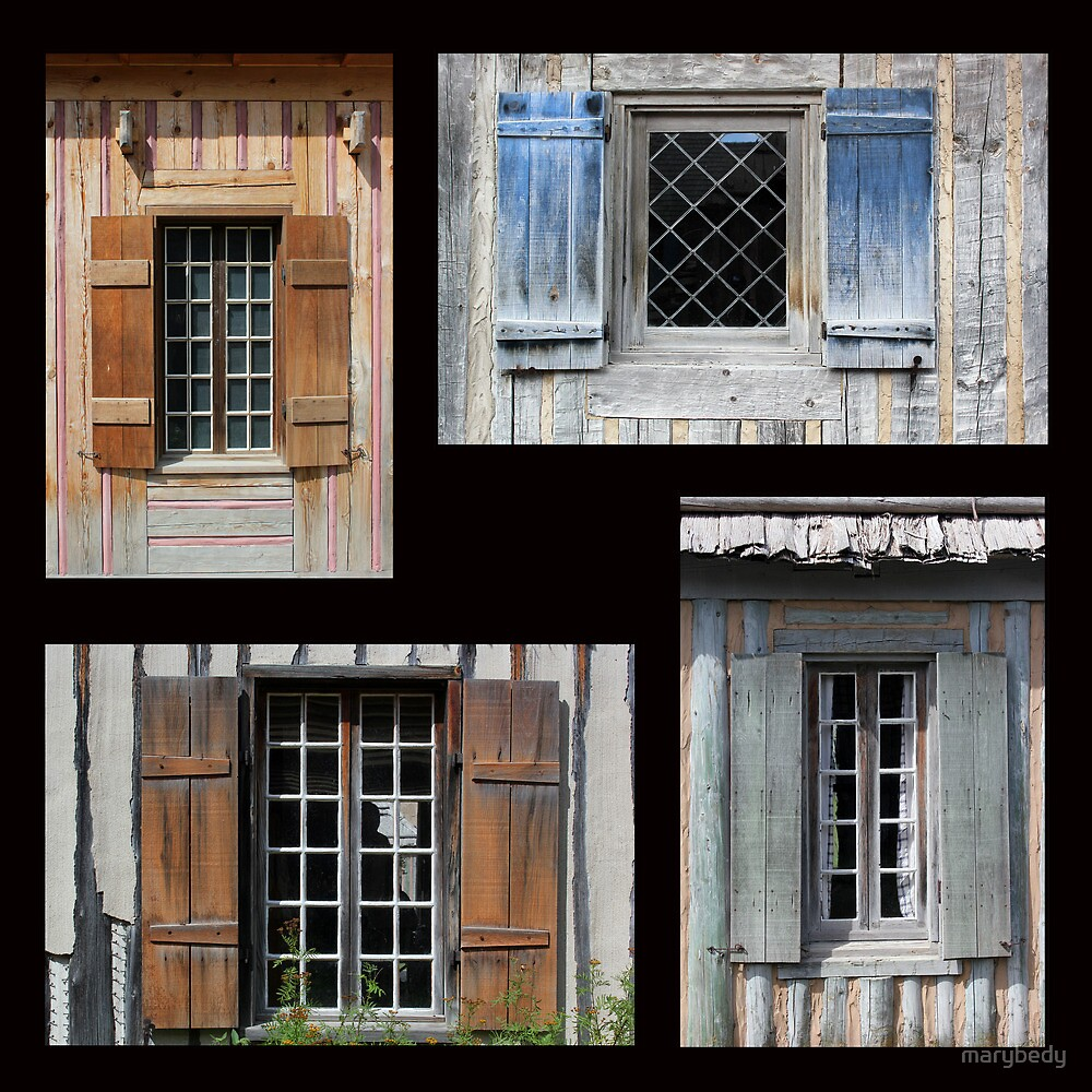 Michilimackinac Windows by marybedy
