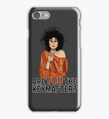 Are You the Keymaster? iPhone Case/Skin