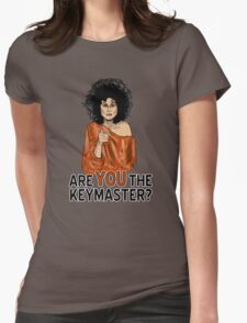 Are You the Keymaster? Womens Fitted T-Shirt