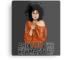 Are You the Keymaster? Metal Print