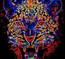 Electric Tiger by Maximilian San