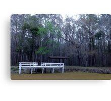 Pond Hidden Artistic Photograph by Shannon Sears Canvas Print