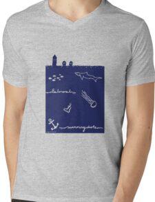 swimming idiots Mens V-Neck T-Shirt