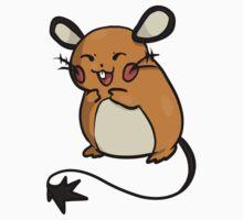 Pokemon X and Y: Dedenne by RessQ