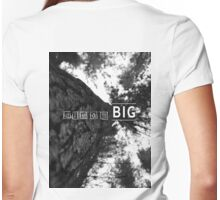 DreamBig - Tee Womens Fitted T-Shirt