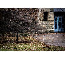 Blue Doors Photographic Print