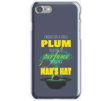 A Single Plum iPhone Case/Skin